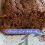 Chocolate Zucchini Bread best way to eat squash