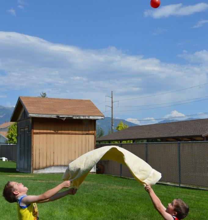 Water Balloon Volley Ball