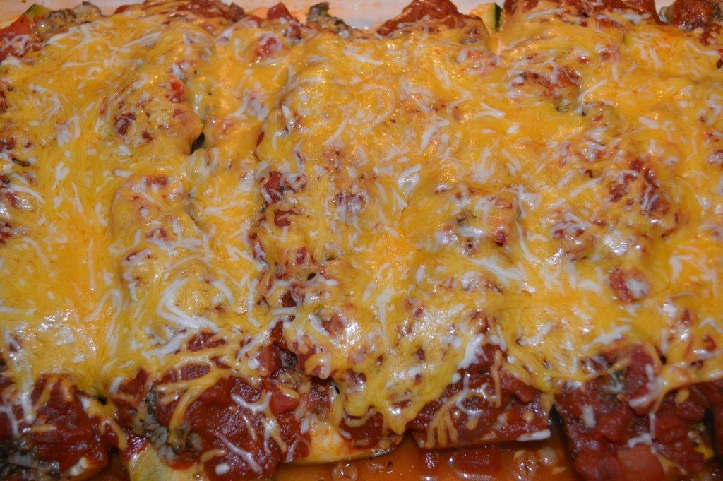 Stuffed Zucchini 8