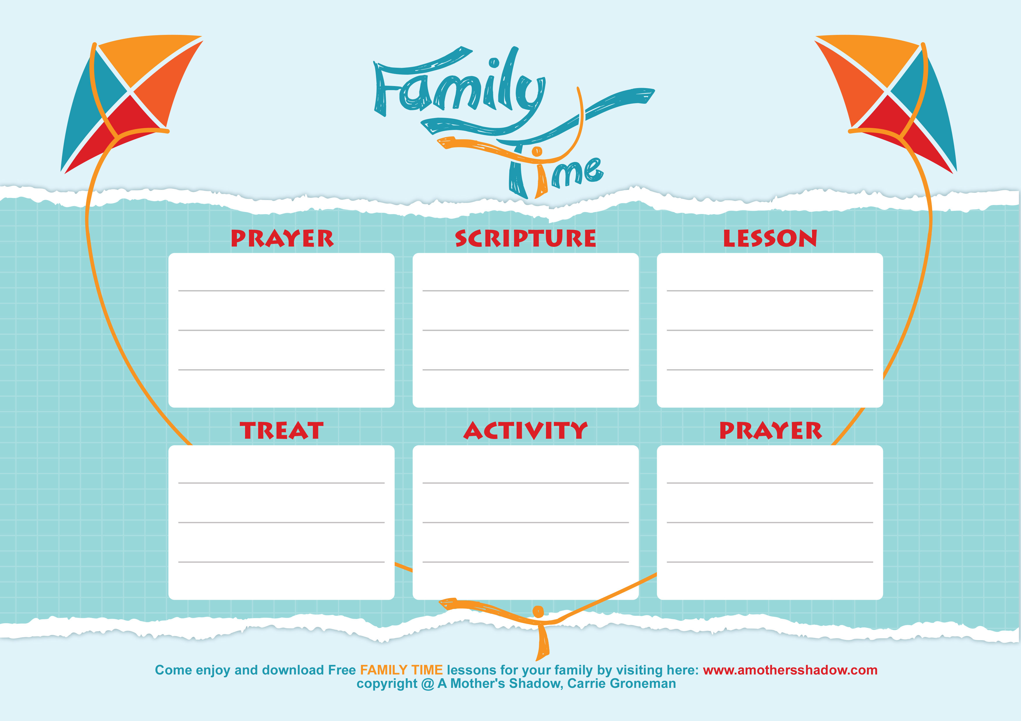 Chart for Family time