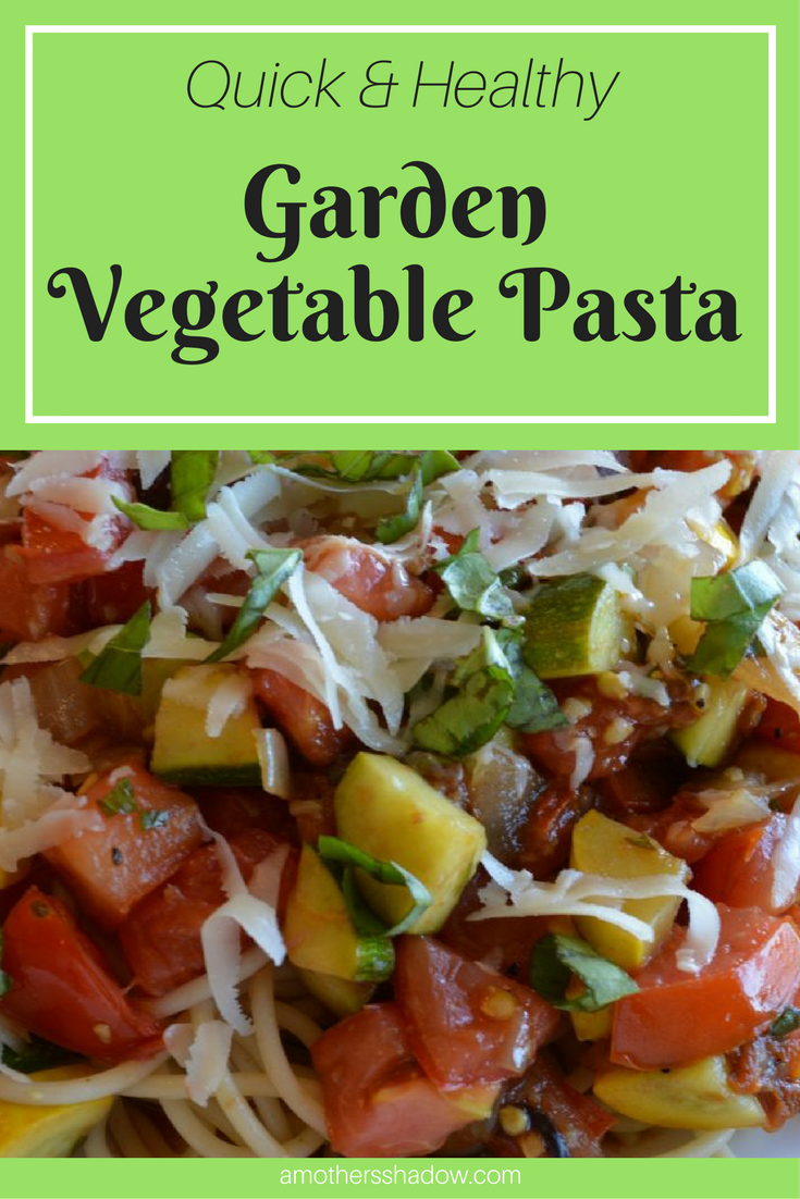Yummy Healthy Garden Vegetable Pasta