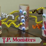 Kids Halloween Craft – T.P Scary Monsters