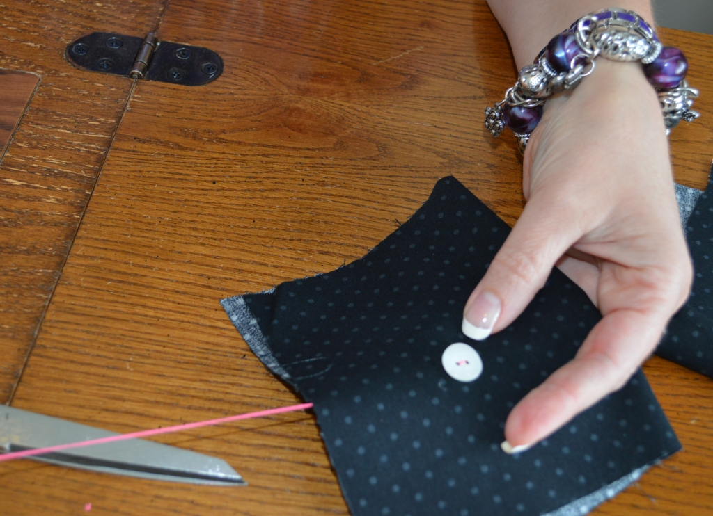 How to Sew on a Button 8