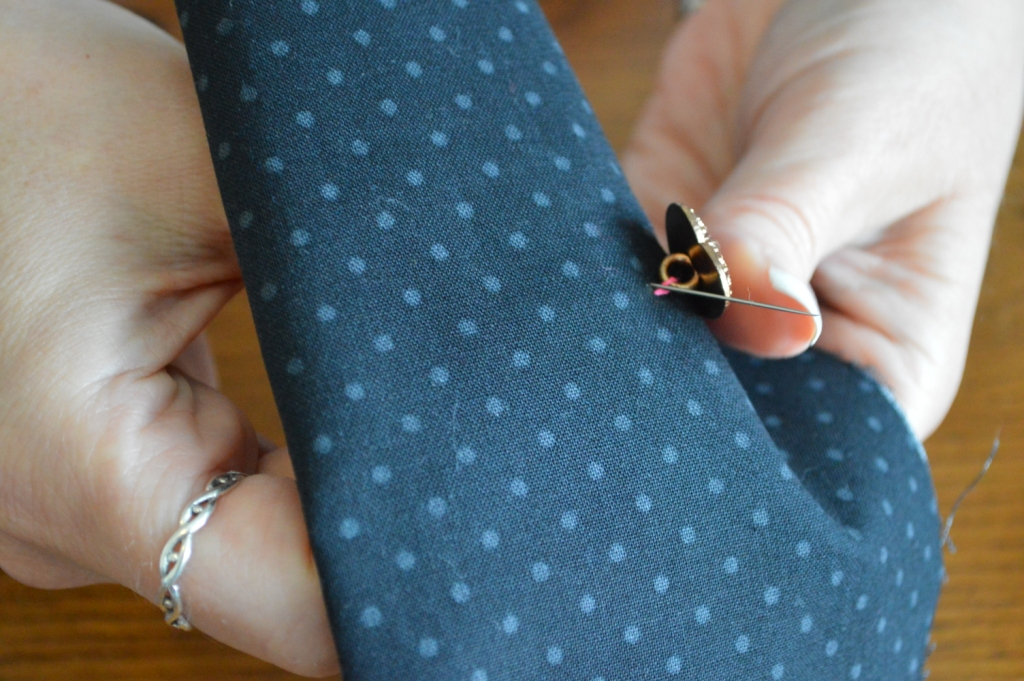 How to Sew on a Button 14