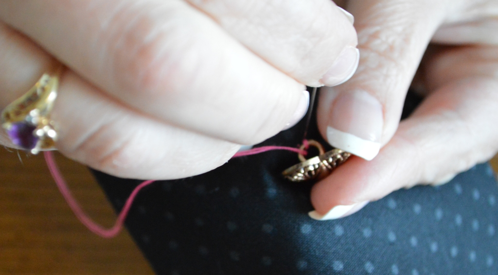 How to Sew on a Button 13