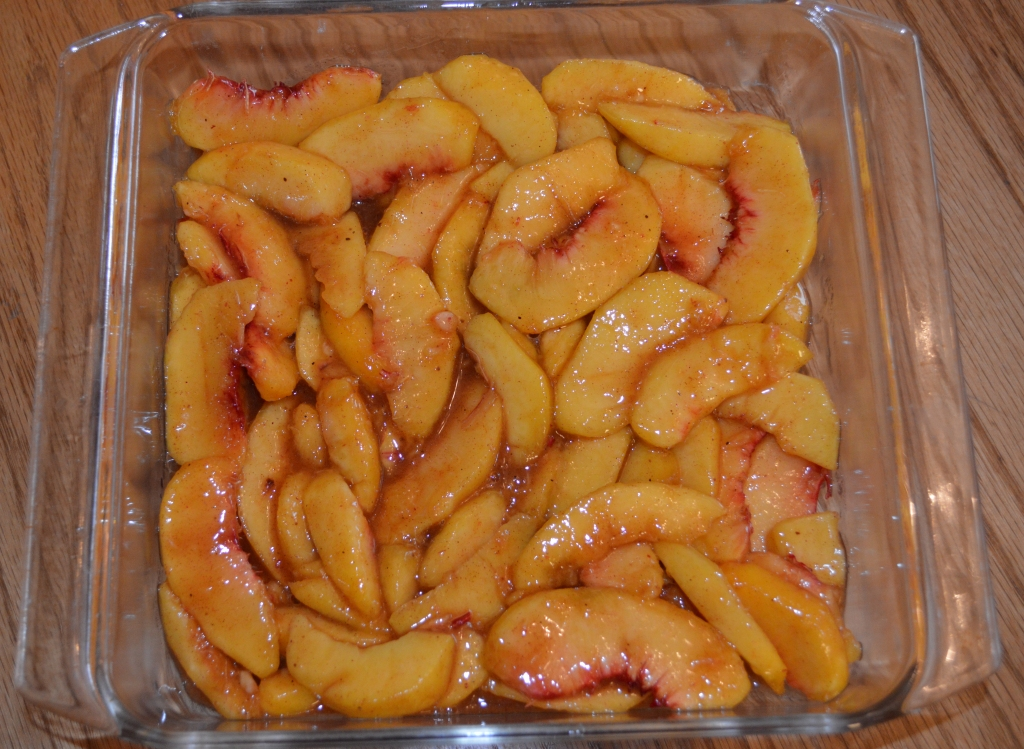 Old Fashioned Fresh Peach Cobbler 1