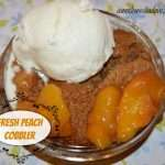 Old Fashioned Fresh Peach Cobbler