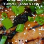 Barbecued Asian  Chicken Thighs