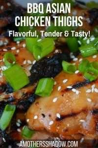 Asian Inspired BBQ Chicken