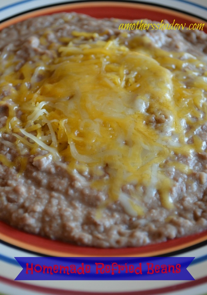 BEST Crock Pot Refried Beans