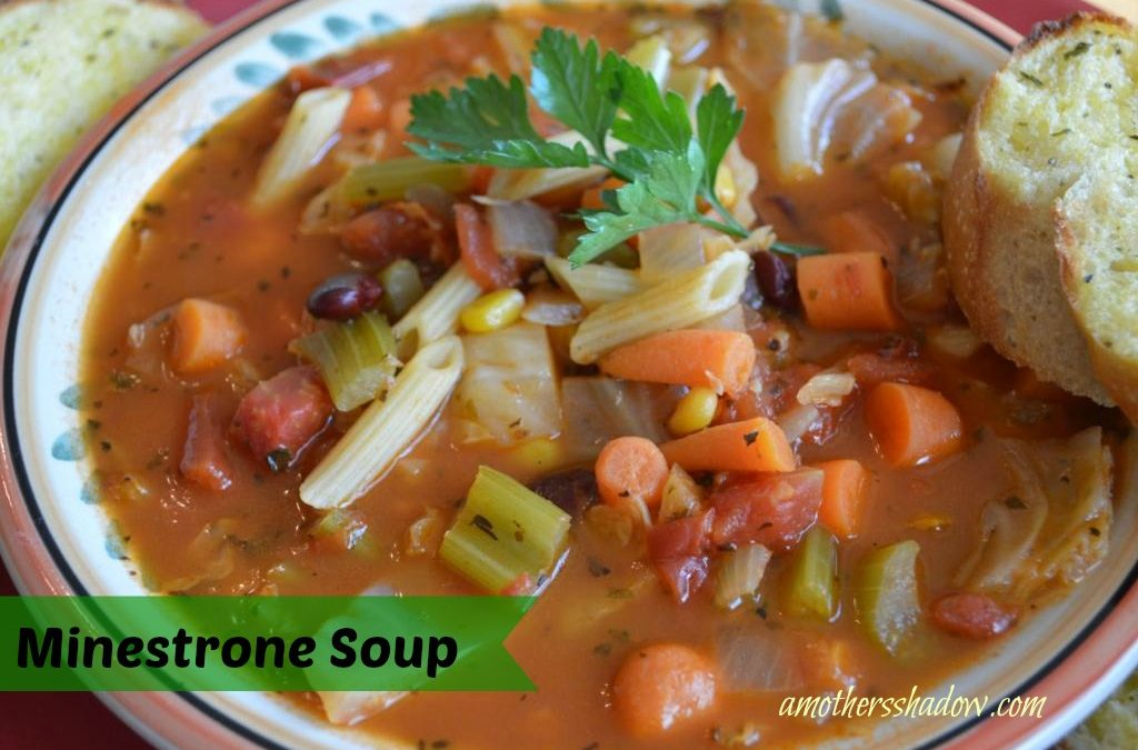 Satisfying Minestrone Soup