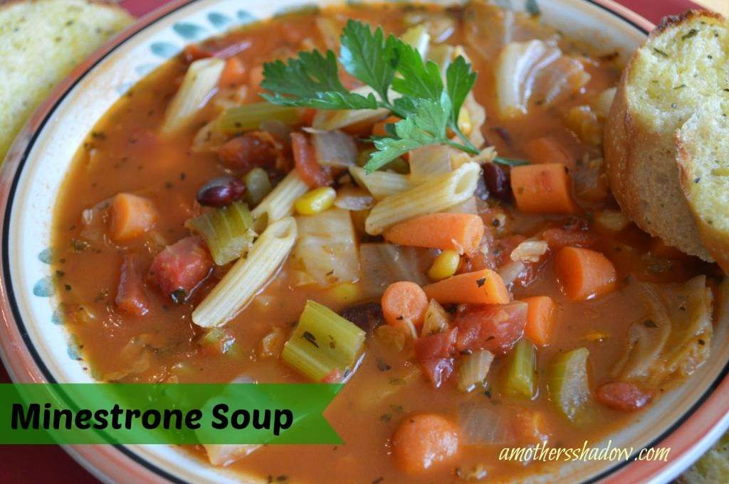 how to fix bland minestrone soup
