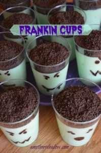 FRANKEN Pudding Cups