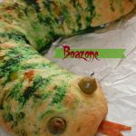 Boazone – Snake shaped Calzone