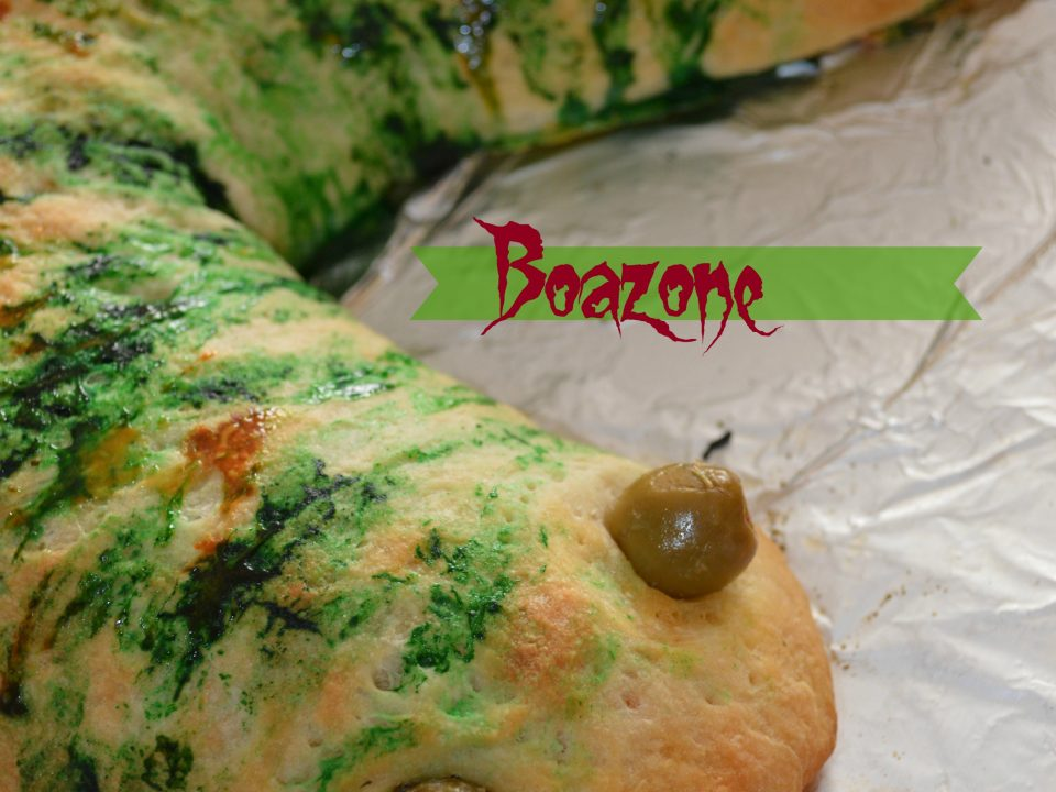 Boazone - Snake shaped Calzone