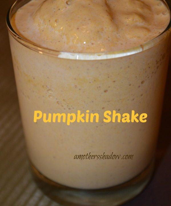 Pumpkin Shake & Pumpkin Smoothie
