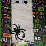 A chocolate bar dressed as a mummy