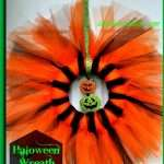 Outdoor or Indoor Halloween Wreath or Grave Ornament