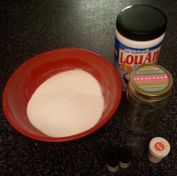 Sugar Scrub 1