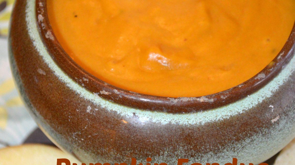 Pumpkin Fondue