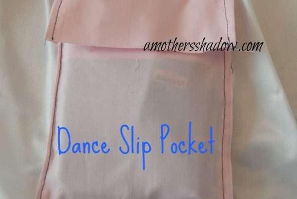 DIY Hidden Dance Slip Pocket