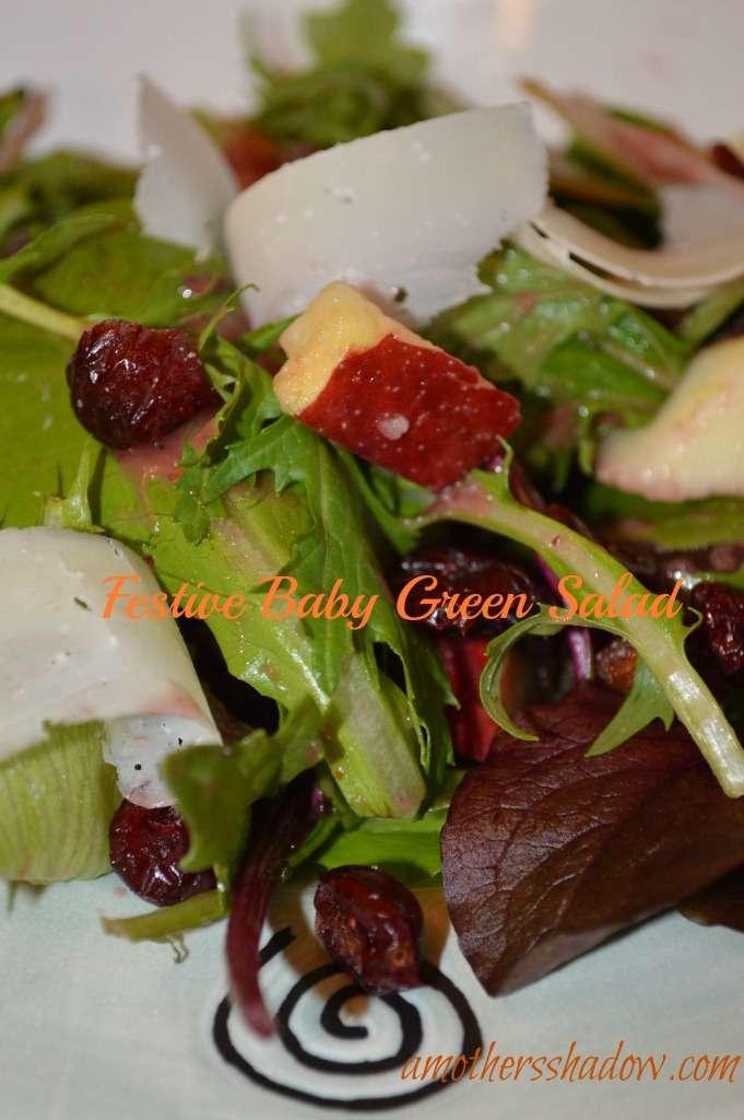 Festive Baby Green Salad