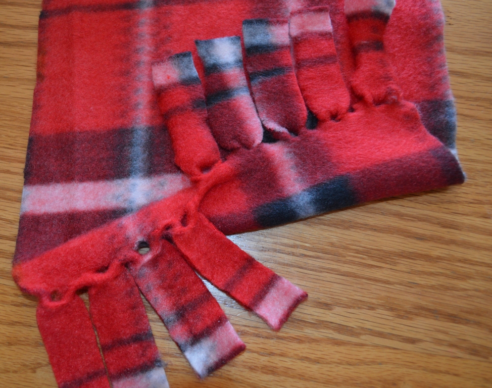 Fleece Scarf 7