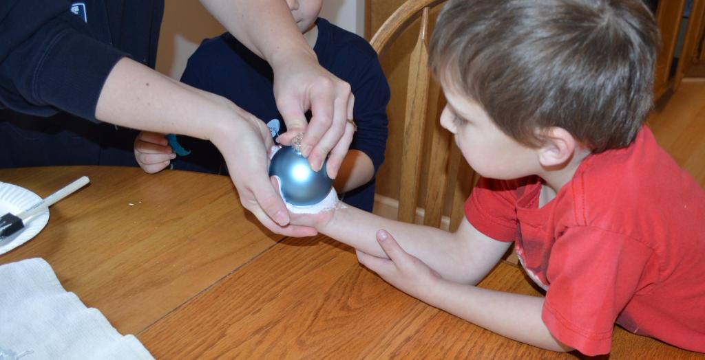 Kids Craft Christmas Ornaments 2