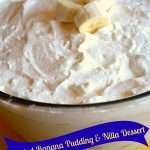 Homemade Roasted Banana Pudding & Nilla Dessert