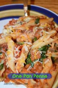 One Pan Penne Pasta