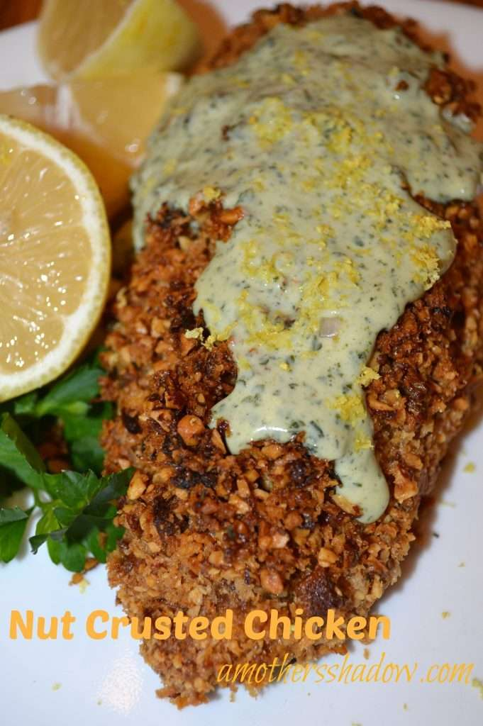 Honey Almond Crusted Chicken