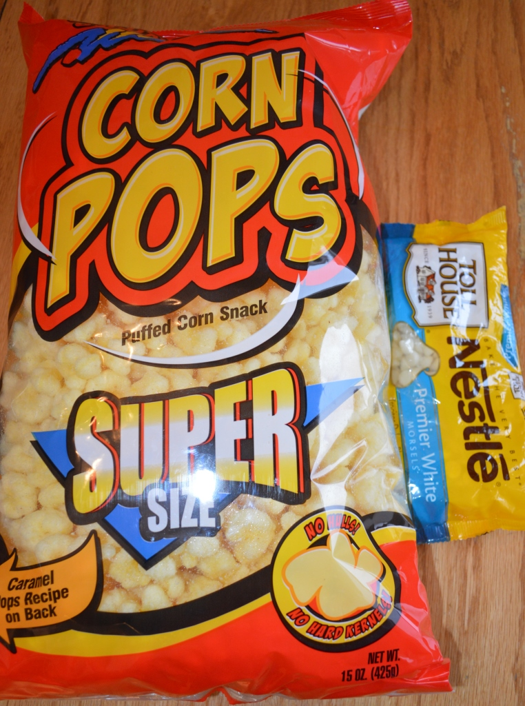 White Chocolate Covered Corn Pops 1
