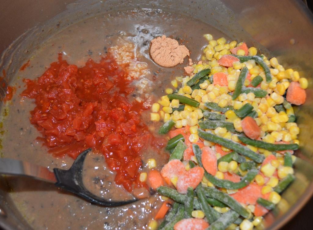 Bean Burrito Soup 6