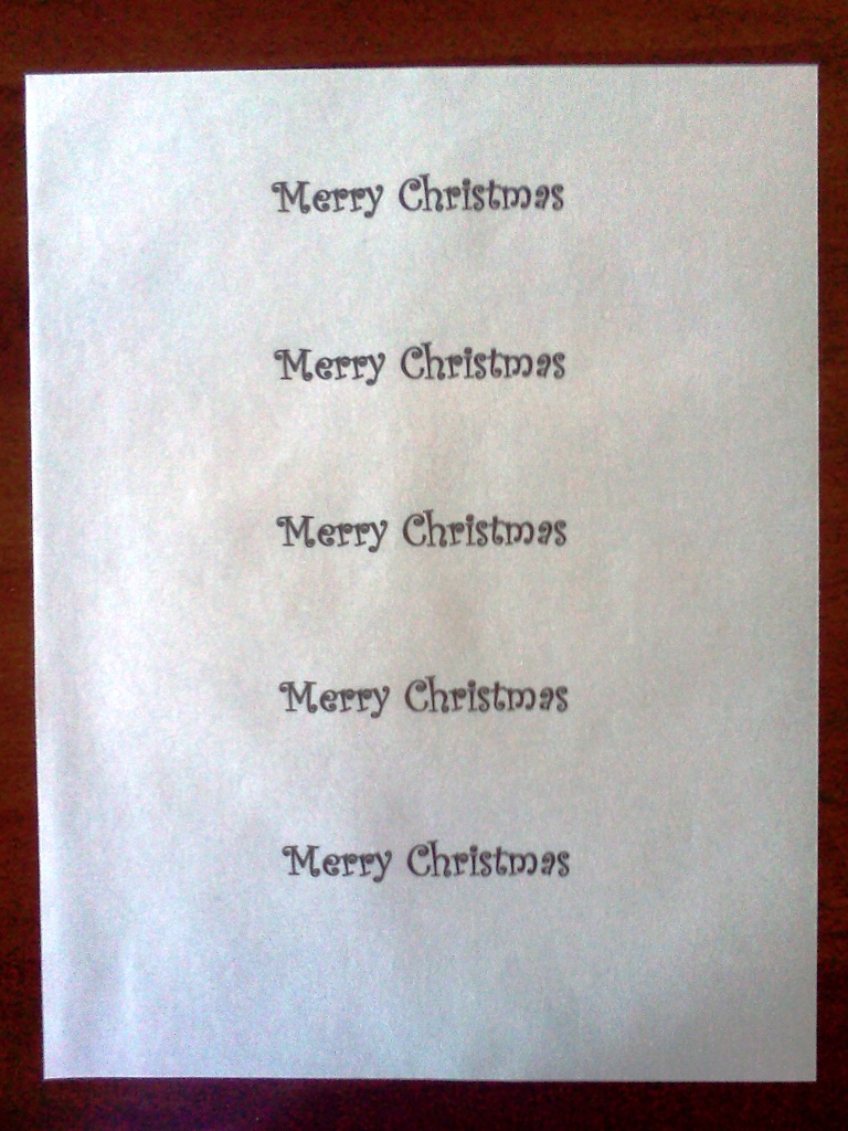 Homemade Greeting Card 4