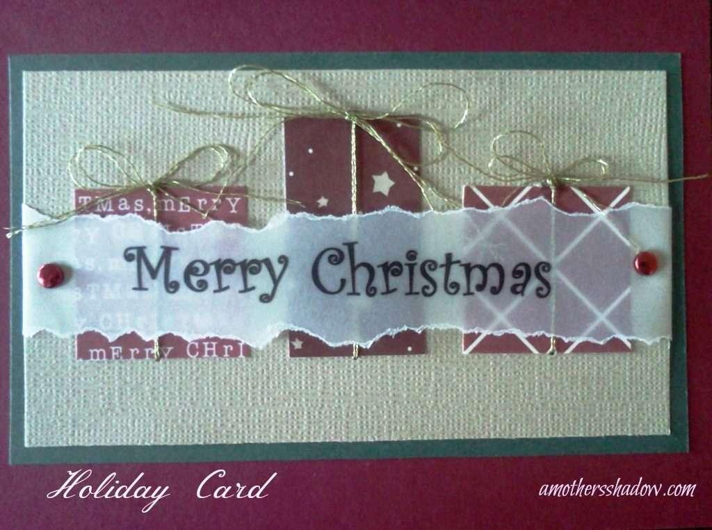 Homemade Greeting Card