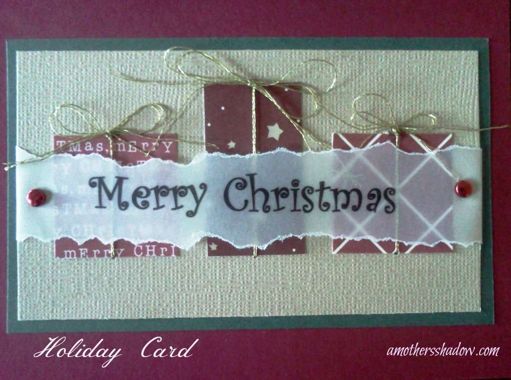 Homemade Greeting Card
