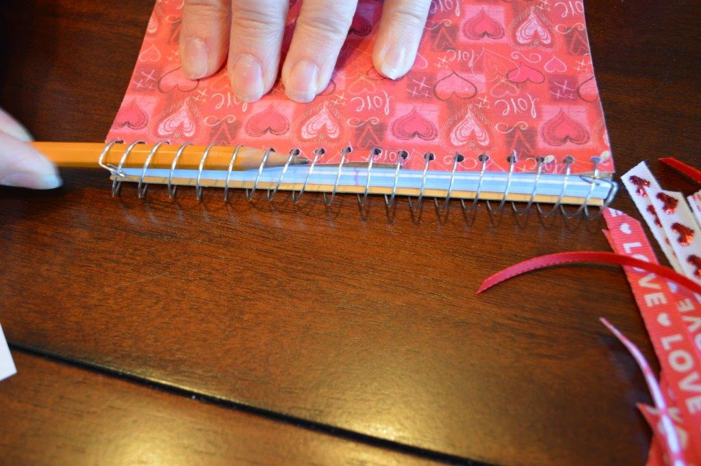 DYI Embellished Notebook 11
