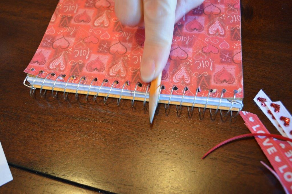 DYI Embellished Notebook 10