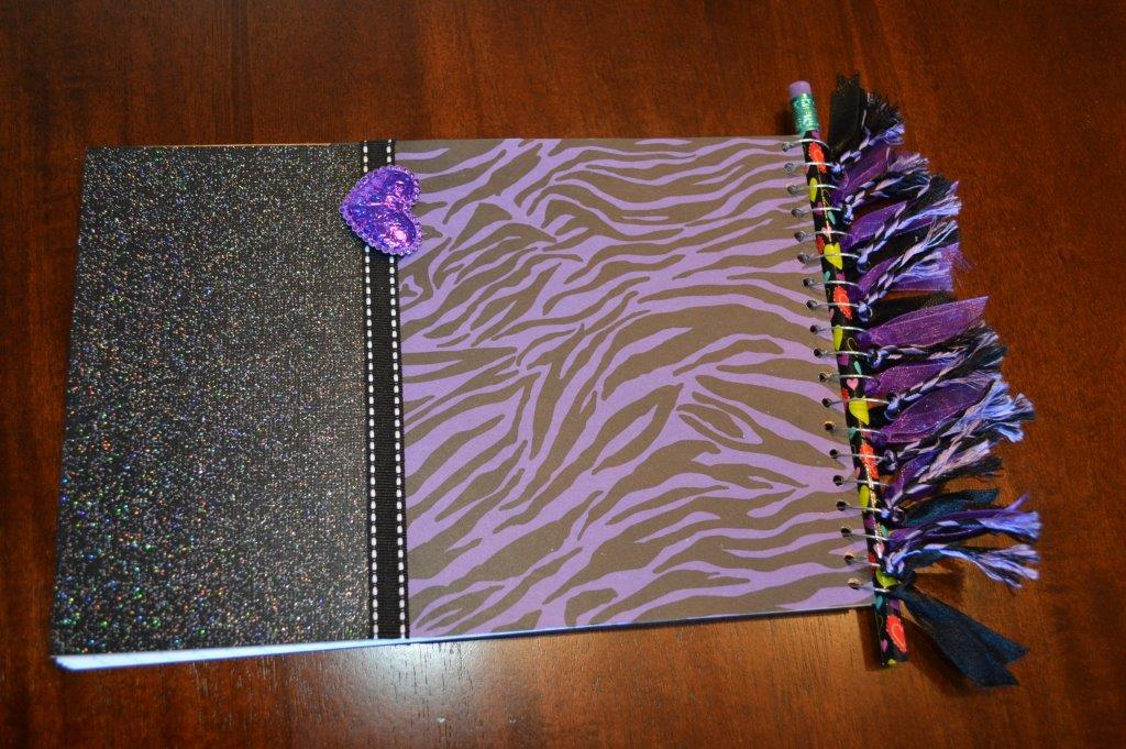 DYI Embellished Notebook 22
