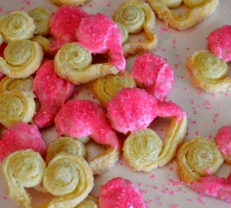 Easy Sweetheart French Palmier Cookies