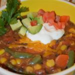 Healthy & Yummy Burrito Soup