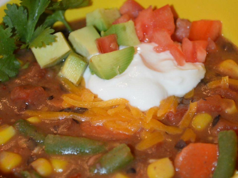 Bean Burrito Soup