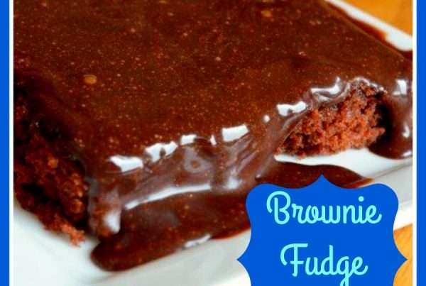 Brownie Fudge Cake