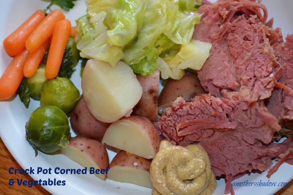 Corned Beef & Vegetables 1