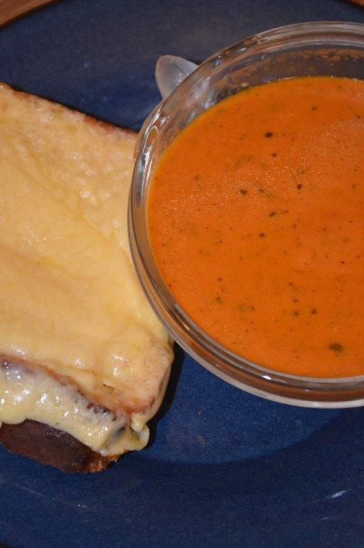 Tomato Basil Soup 6