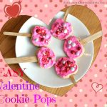 Easy Valentine Cookie Pops