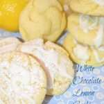 White Chocolate Lemon Cookies