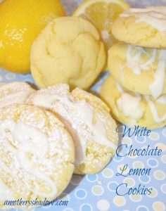 White Chocolate Lemon Cookie