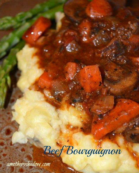 Beef Bourguignon & Chunky Mashed Potatoes