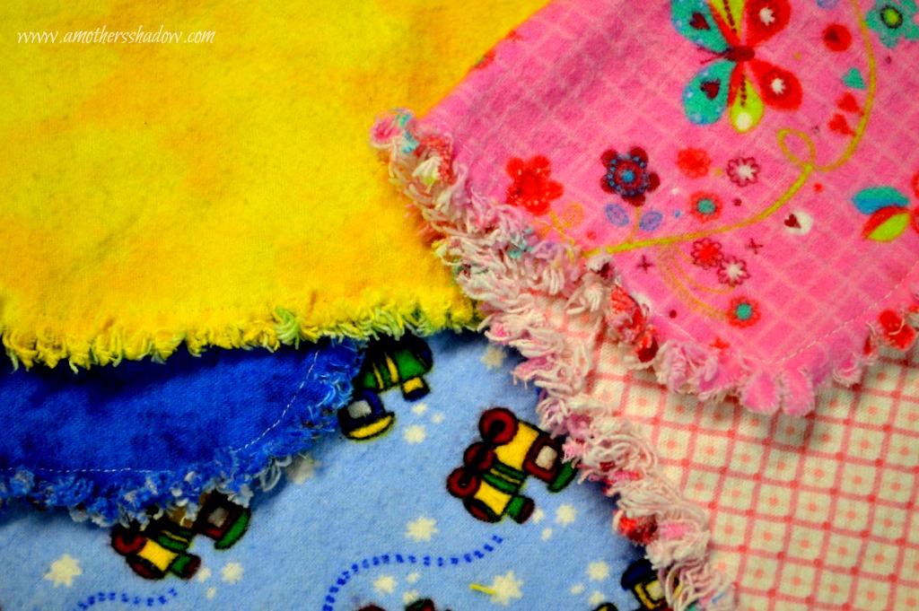 Homemade Burp Cloth
